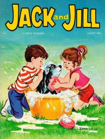 Getting the Works - Jack and Jill, August 1963