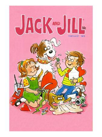 Hearts and Havoc - Jack and Jill, February 1972
