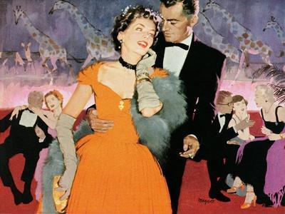 "Second Elopement  - Saturday Evening Post ""Leading Ladies"", August 8, 1953 pg.24"