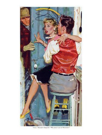"The Undecided Blonde  - Saturday Evening Post ""Leading Ladies"", January 29, 1955 pg.p24"