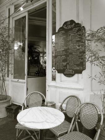 Cafe, Quai De L'Hotel De Ville, Marais District, Paris, France