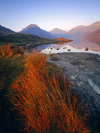 England, Cumbria, Wasdale Head, Wastwater