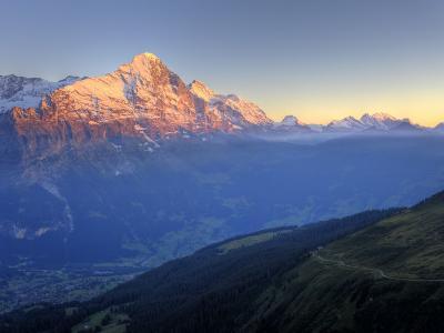 Switzerland, Bernese Oberland, Grindelwald, First, Mt Eiger