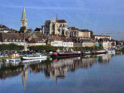 Abbey of Saint-Germain, Auxerre, Yonne Department, Burgundy, France