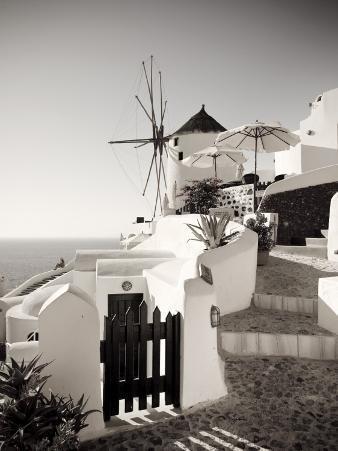Greece, Cyclades, Santorini, Oia Town, Boutique Hotel