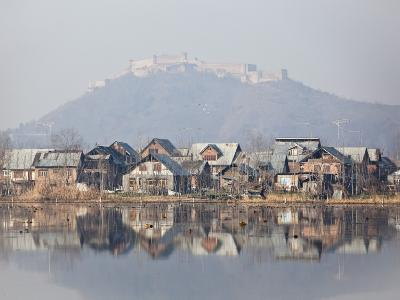 The Fort Looks over Dal Lake at Srinagar, Kashmir, India