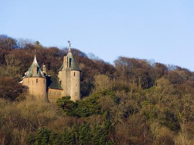 Europe, Uk, United Kingdom, Wales, Cardiff, Castell Coch, (Red Castle)