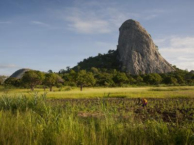 Mozambique, Near Nampula; the Stunning Landscape of Northern Mozambique Early in the Morning