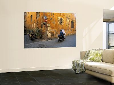 Scooter in Street, Rome, Italy