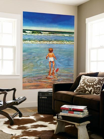 floor decor austin.htm baby at the beach   july 23  1949 wall mural by austin briggs at  wall mural by austin briggs