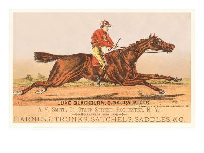 Advertisement for Tack, Steeplechase