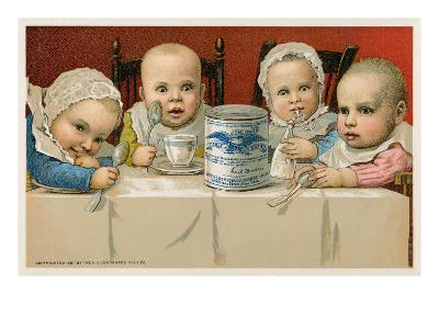 Crazed Babies with Condensed Milk