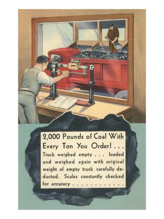 Coal Weight Guaranteed