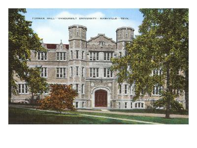 Furman Hall, Vanderbilt University, Nashville, Tennessee
