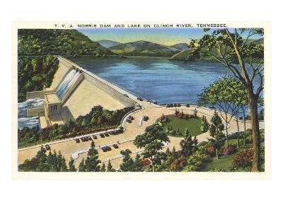 TVA Norris Dam, Tennessee