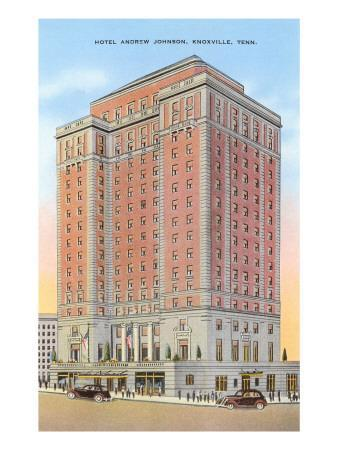 Hotel Andrew Johnson, Knoxville, Tennessee