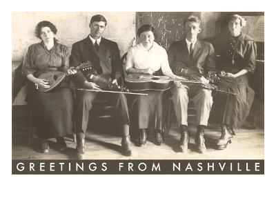 Greetings from Nashville, Traditional Music Band