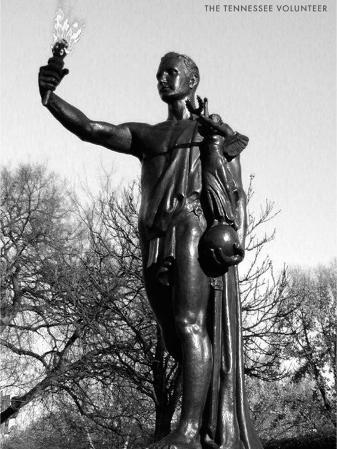 Statue of the Tennessee Volunteer