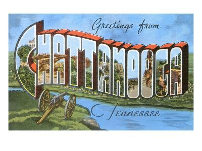 Greetings from Chattanooga, Tennessee