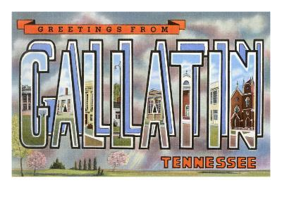 Greetings from Gallatin, Tennessee
