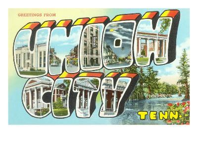 Greetings from Union City, Tennessee