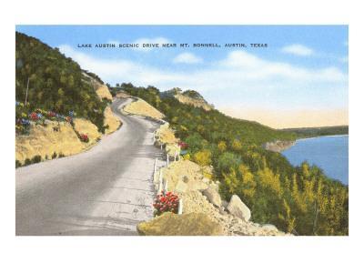 Lake Austin, Mt. Bonnell, Austin, Texas