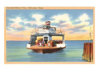 Ferry Boat, Galveston, Texas