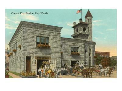 Central Fire Station, Fort Worth, Texas