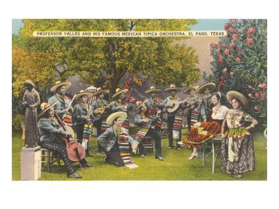 Valdes' Mexican Orchestra, El Paso, Texas