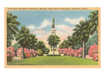 Texas Heroes Monument, Galveston, Texas