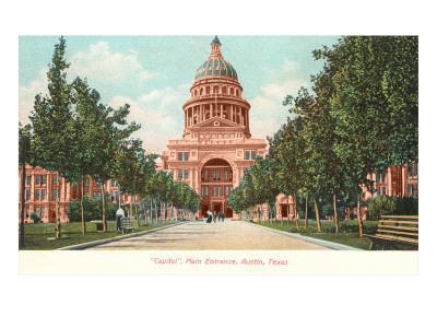 Capitol Building at Austin, Texas