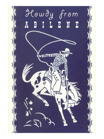 Howdy from Abilene, Texas
