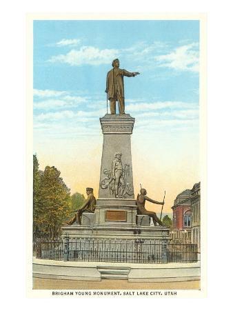 Brigham Young Monument, Salt Lake City, Utah