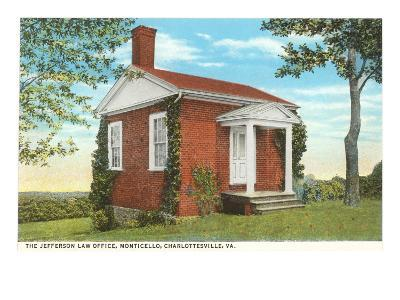 Jefferson Law Office, Monticello, Charlottesville, Virginia