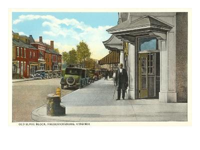 Old Slave Block, Fredericksburg, Virginia