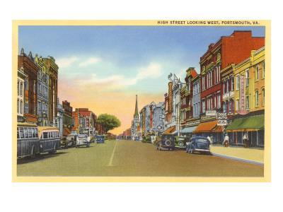 High Street, Portsmouth, Virginia