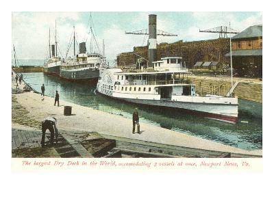 Dry Dock, Newport News, Virginia