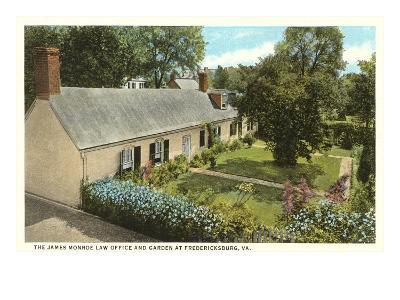 James Monroe Law Office, Fredericksburg, Virginia