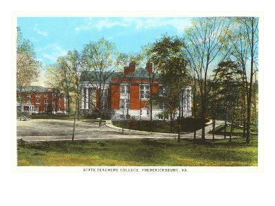 State Teachers College, Fredericksburg, Virginia