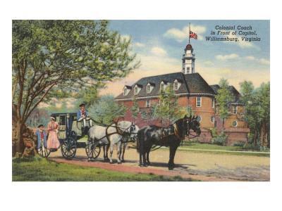 Colonial Coach, Williamsburg, Virginia