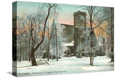 Chapel in Winter, University of Virginia, Charlottesville