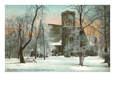 Chapel in Winter, University of Virginia, Charlottesville