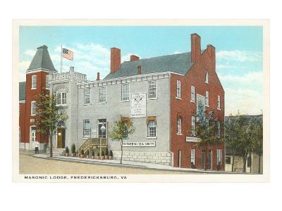 Masonic Lodge, Fredericksburg, Virginia
