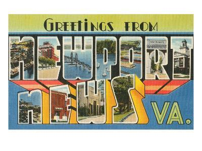 Greetings from Newport News, Virginia