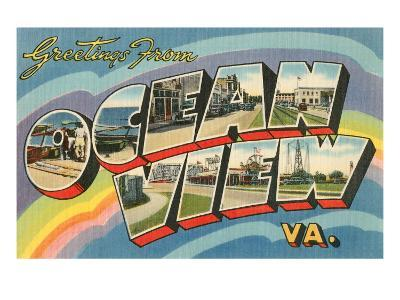 Greetings from Ocean View, Virginia