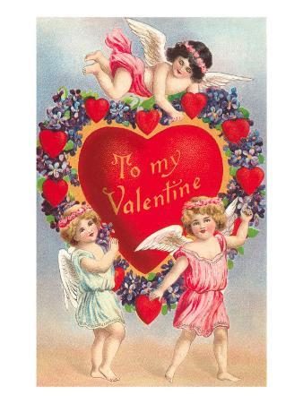 To My Valentine, Cupids with Heart