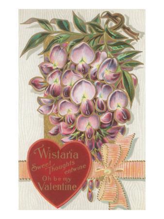 Vintage Wisteria Valentine
