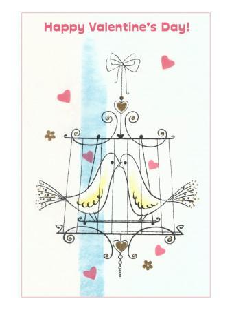 Happy Valentine's Day, Love Birds