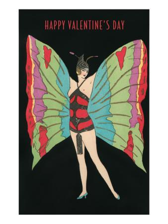 Happy Valentine's Day, Butterfly Woman