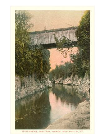 Covered Bridge, Burlington, Vermont